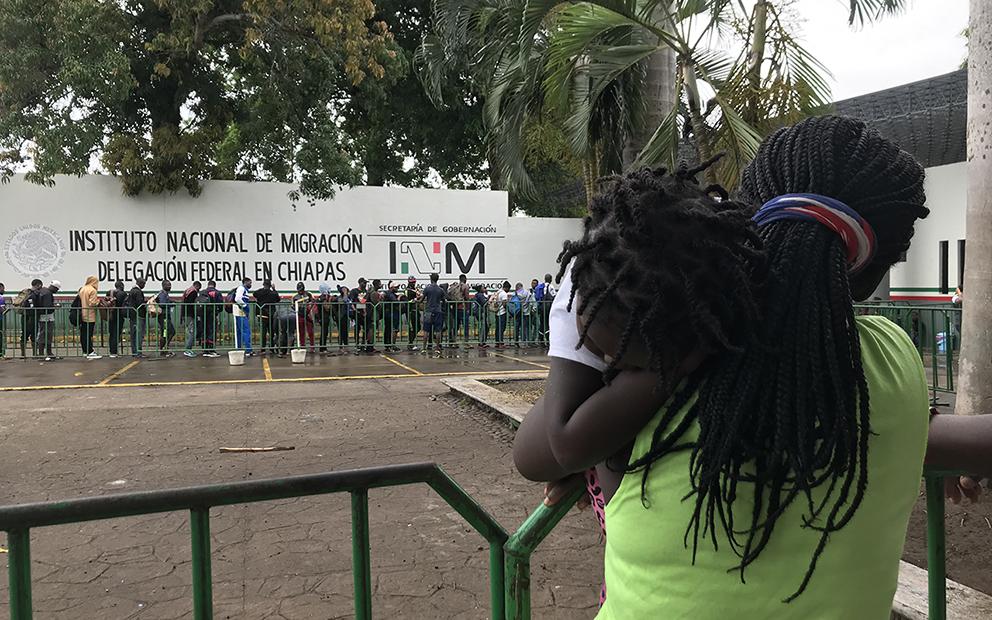 Covid detuvo en México a una bebé haitiana que cruzó la selva del Darién