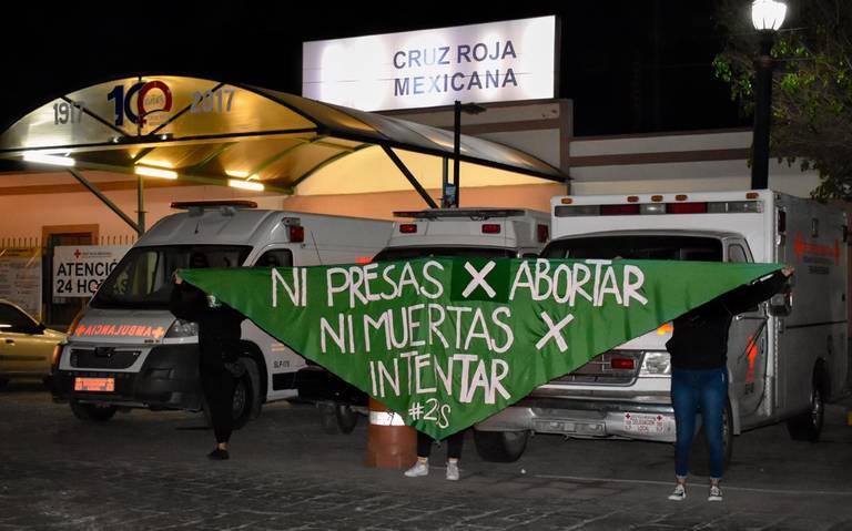 San Luis Potosí, se pintó de verde, por el aborto legal