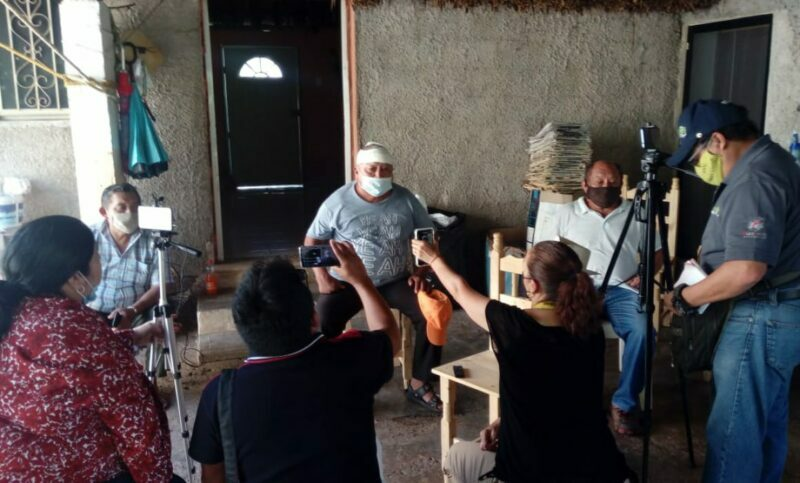 Denuncian agresión contra ejidatarios de Samahil por no vender tierras (Yucatán)