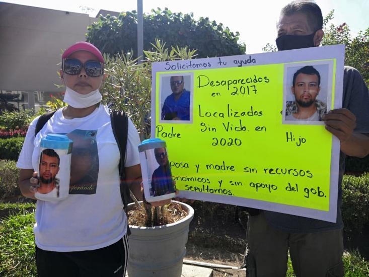 Colectivos buscan apoyo para familia de desaparecidos (Nayarit)