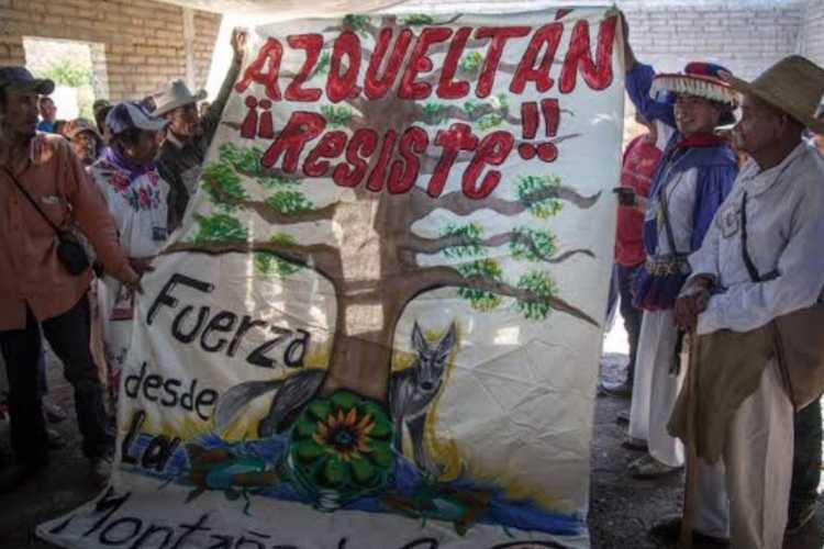 A siete años de autonomía, continúan violaciones a derechos de comunidad wixárica en Azqueltán