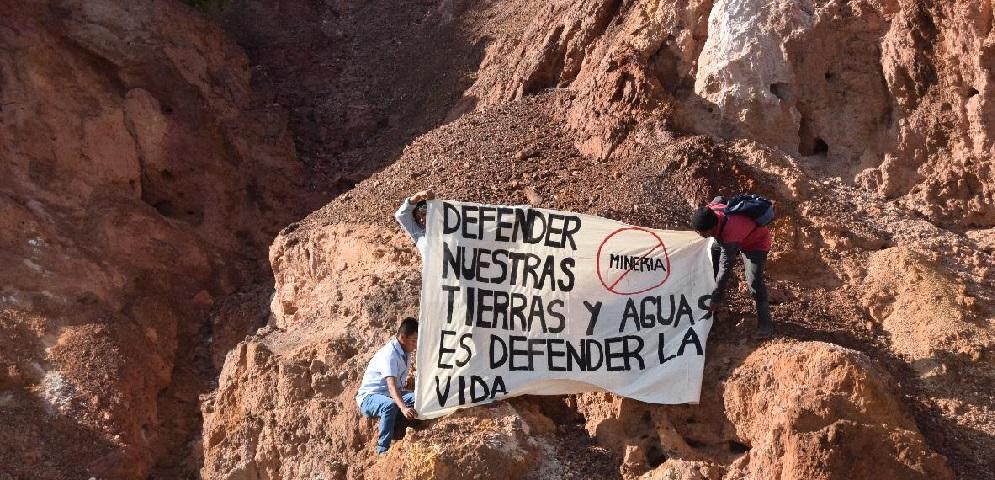 Ante traiciones del gobierno, zoques impiden avance de empresa canadiense en los Chimalapas (Oaxaca)