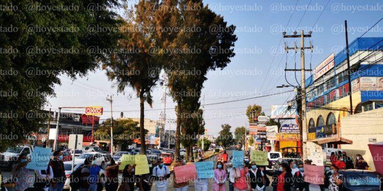 Enfermeros se manifiestan en Coacalco, exigen equipo para enfrentar la pandemia (Estado de México)