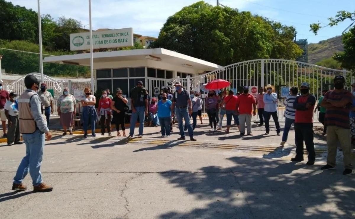 Bloqueo a la termoeléctrica de Topolobampo será permanente (Sinaloa)