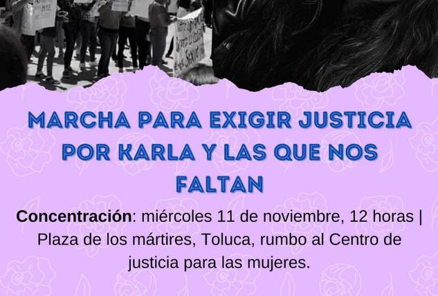 Crónica de marchas en Toluca en repudio a feminicidios