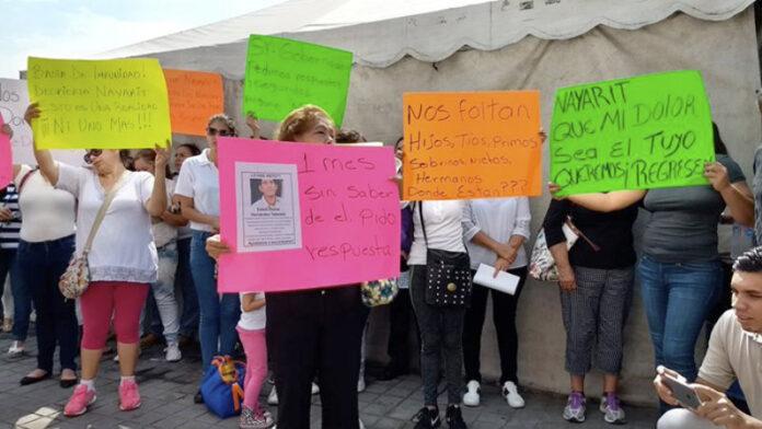 Gobernador y fiscal de Nayarit ignoran las múltiples desapariciones forzadas en la entidad