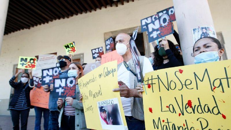 Israel Vázquez, el primer reportero de Guanajuato ejecutado en plena actividad