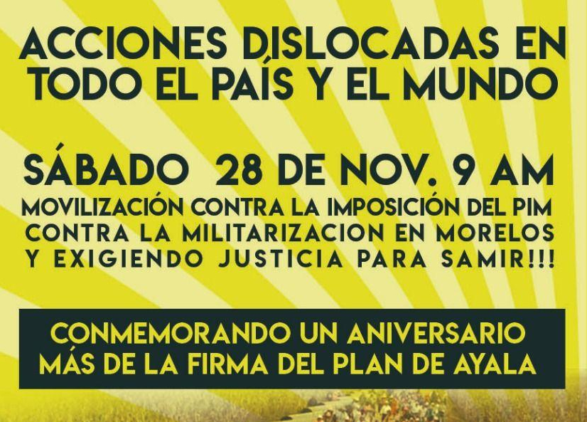 """Acción dislocada nacional en contra de la imposición del PIM: """"POR LA VIDA Y CONTRA EL DINERO"""" (Galeria de fotos)"""