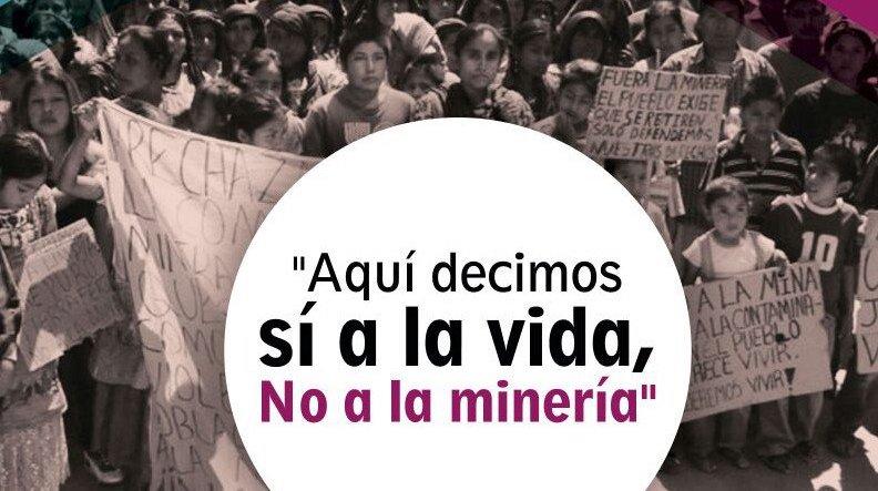 Gobierno de la 4T favorece intereses mineros y a comunidades les niega audiencia: Frente no a la Minería  (Oaxaca)