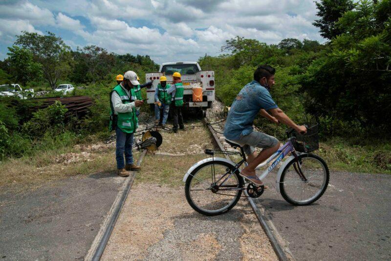 La lucha indígena que busca ponerle freno al Tren Maya