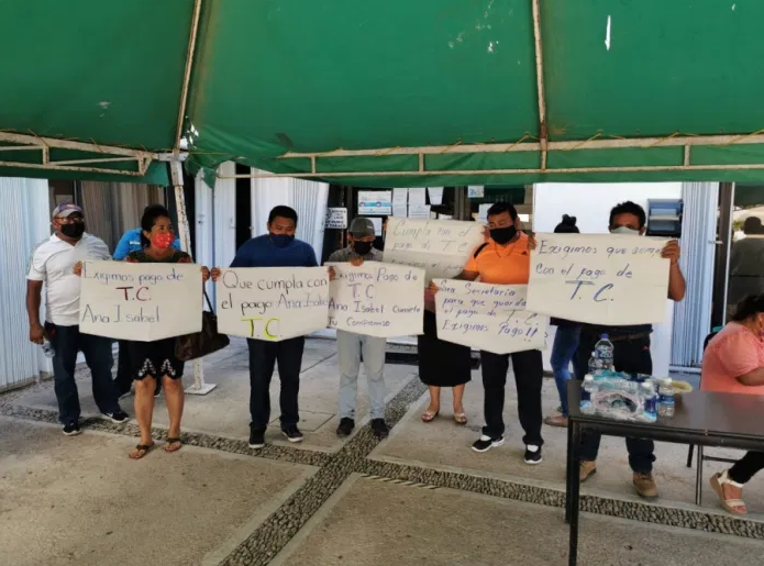 Maestros alistan plantón frente a la SEQ en Chetumal, ante falta de respuesta de autoridades locales