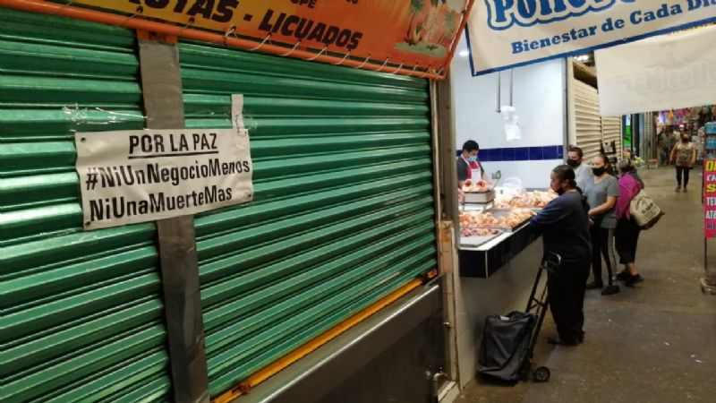 Comercios de Salamanca cierran sus puertas para exigir seguridad (Guanajuato)
