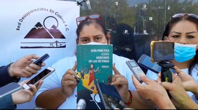 """""""¿Por qué no nos recibe el gobernador; a qué le teme?"""": Red Desaparecidos en Colima"""