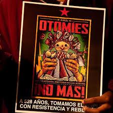 Represión a la comunidad Otomí en la Ciudad de México (Videos)