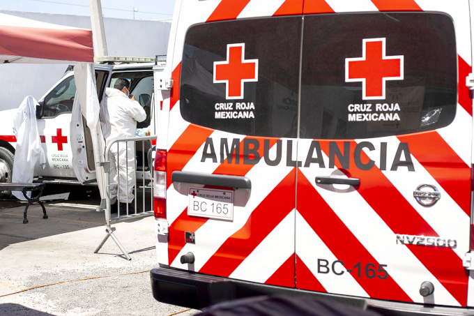 Sin donativo ciudadano, Cruz Roja reducirá atención prehospitalaria (Baja California)