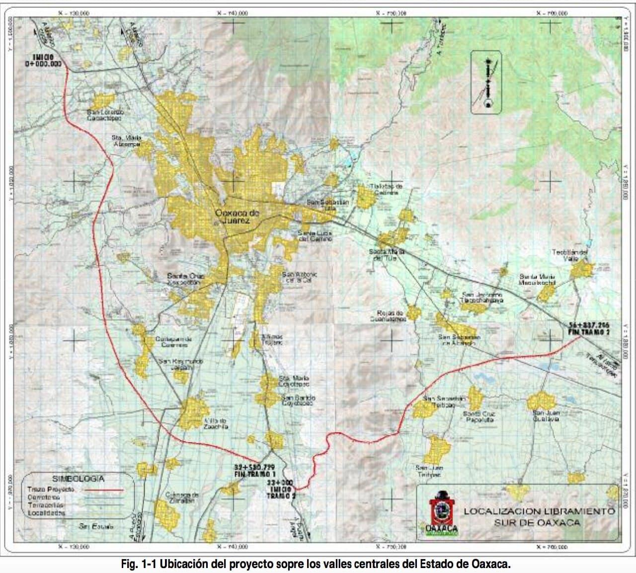 Estado mexicano revive el Libramiento Sur: la ruta del despojo en los valles centrales de Oaxaca