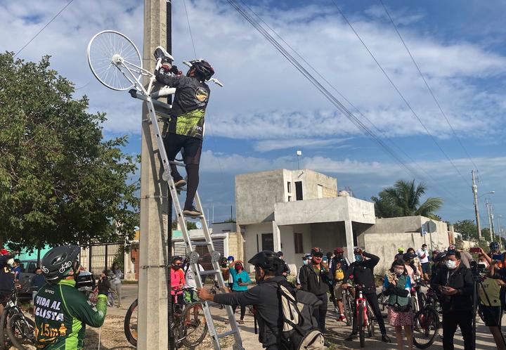 Exigen justicia para Jacinto y no más muertes de ciclistas (Yucatán)