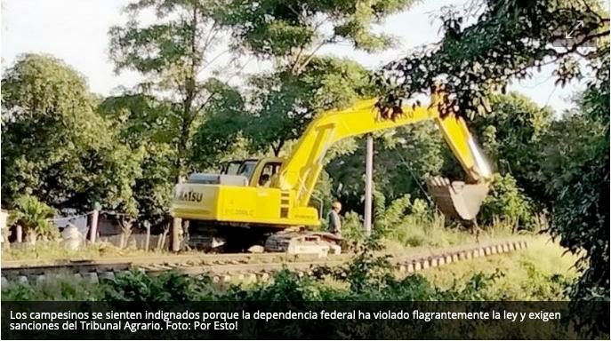 Demandan a Fonatur por continuar obras del Tren Maya en Campeche