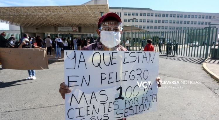 Sin recibir hemodiálisis están más de 100 personas en el Adolfo López Mateos (Estado de México)