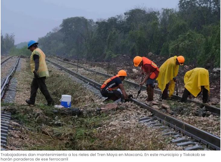 Críticas contra el Tren Maya, por el planeta y empleos