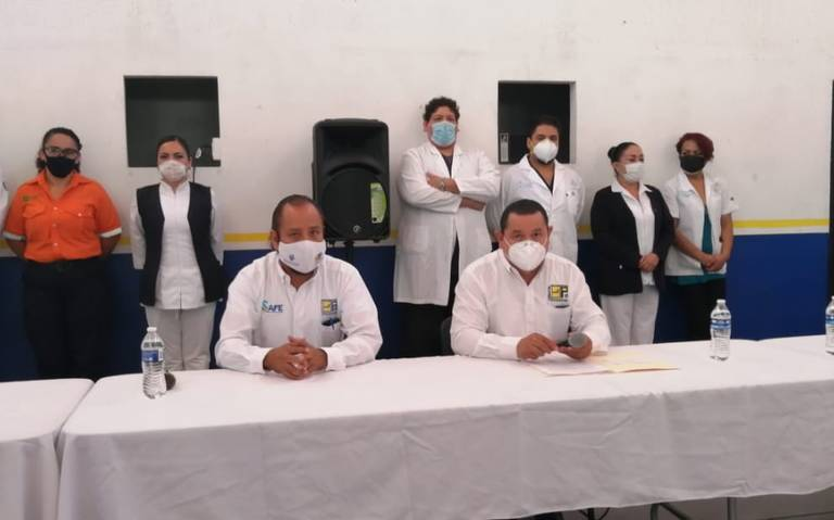 Sindicato de Guadalajara denuncia falta de insumos para prevenir contagios de Covid-19 en Cruz Verde (Jalisco)
