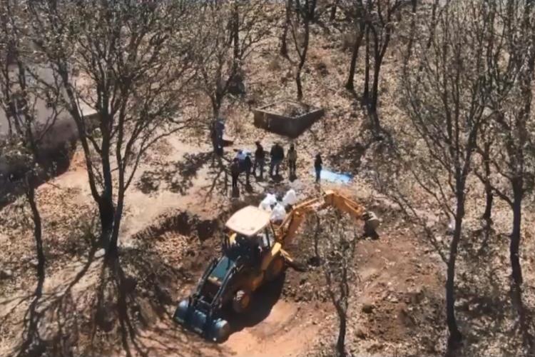 Restos de 52 víctimas en fosa de Juanacatlán (Jalisco)