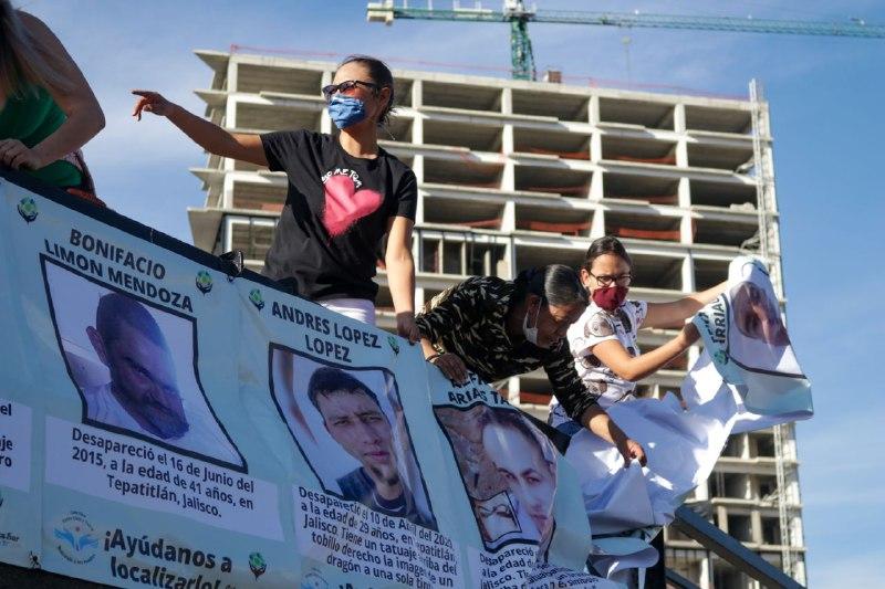 «En busca de ti»: familias se unen para encontrar a las y los desaparecidos en la región Altos Sur de Jalisco