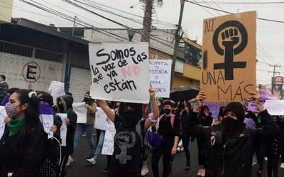 Con rabia y dolor se manifestaron las mujeres (Veracruz)