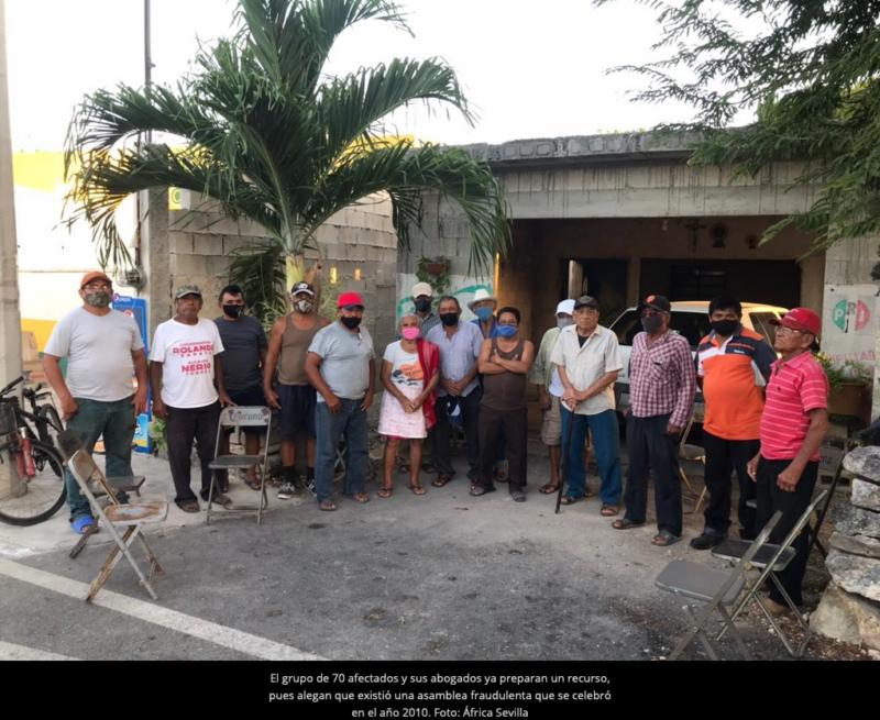 Mafia Agraria en Yucatán: Ejidatarios de Sierra Papacal son despojados de sus tierras