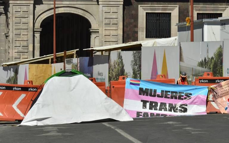 Tercer día de huelga de hambre de colectivos de personas transexuales (Estado de México