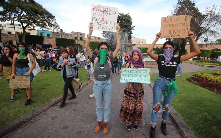 Convocan a marcha feminista en Michoacán el 8 de marzo