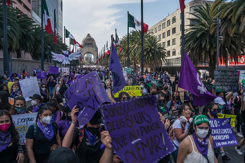 Y la protesta se esparció por la ciudad…(Ciudad de México)