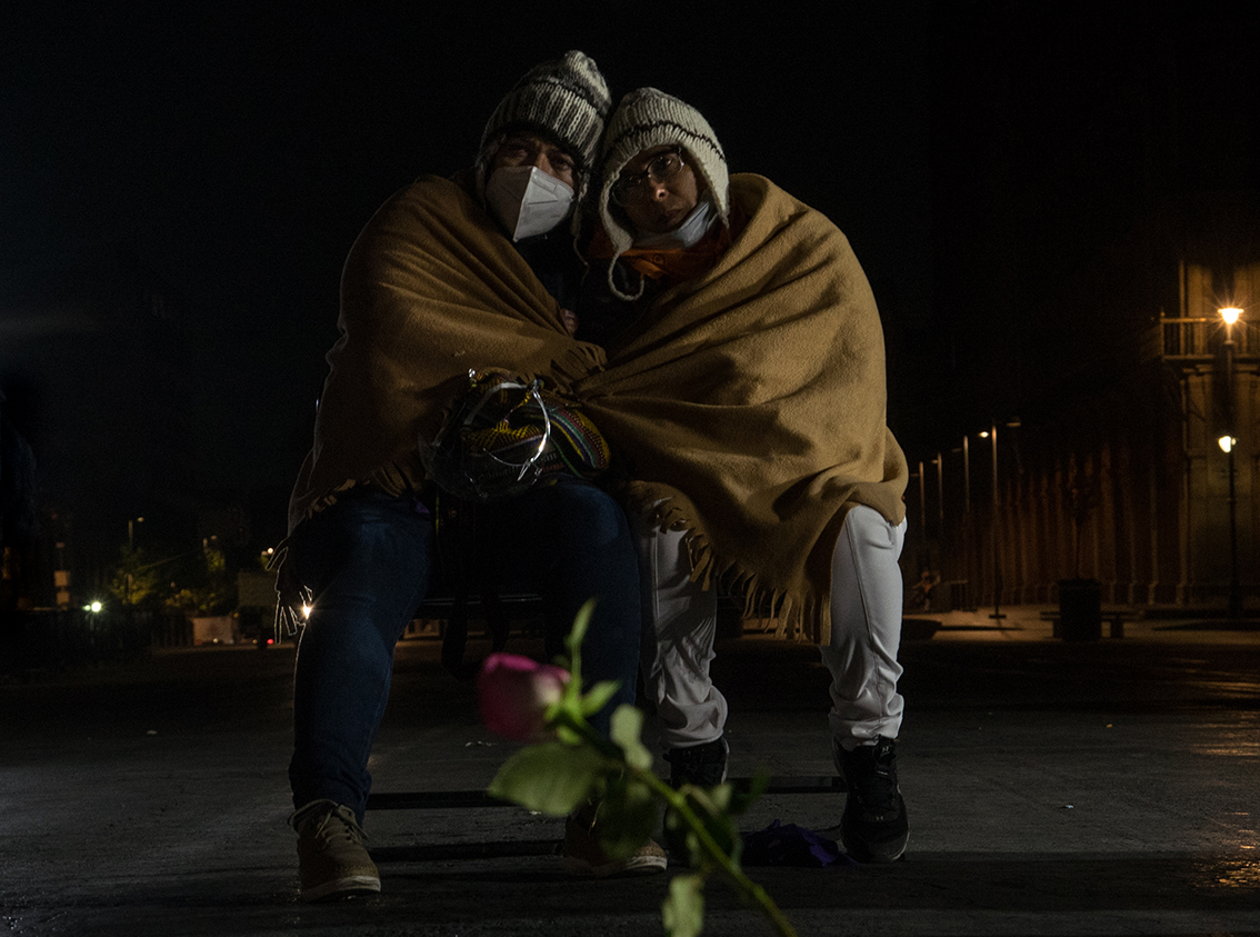 La larga noche de las madres que buscan justicia para sus hijas
