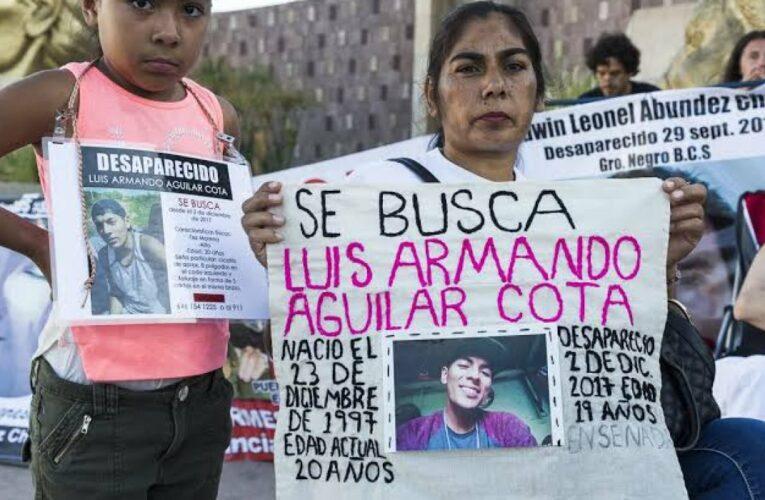 SLP registra 355 desaparecidos: Comisión Nacional de Búsqueda