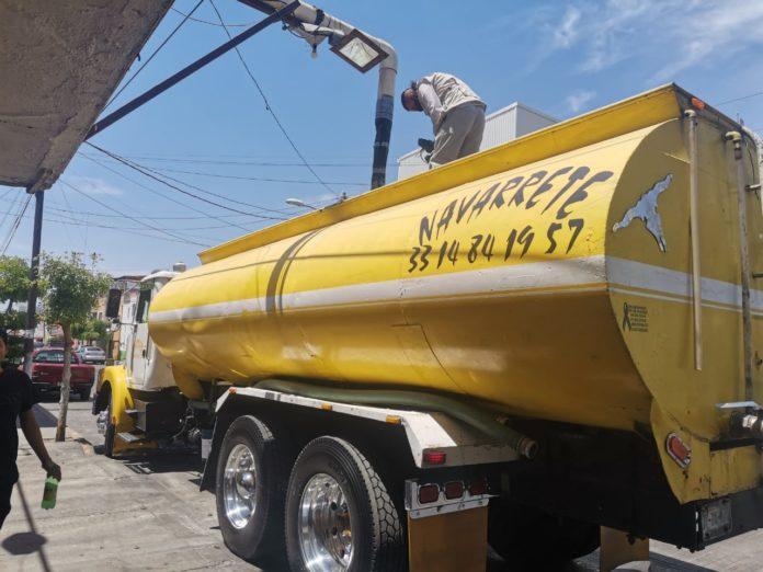 Incrementa hasta un 70 % la compra de pipas de agua en ZMG (Jalisco)
