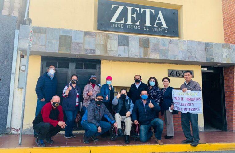 Protestarán maestros por falta de pago, se unen a huelga de hambre en Mexicali (Baja California)