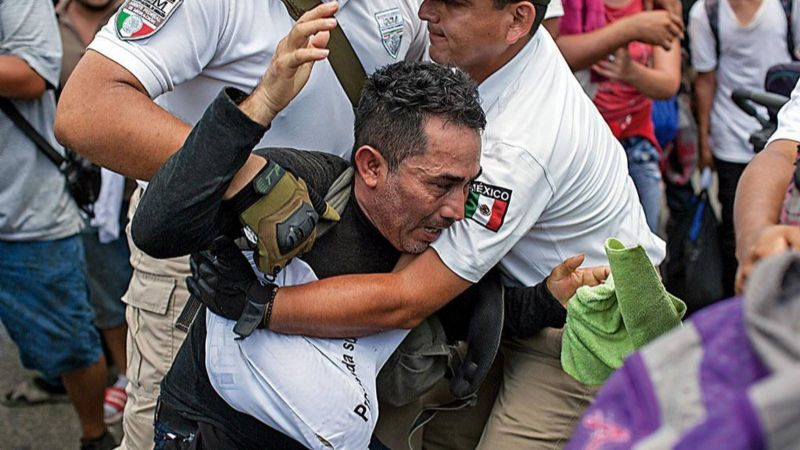 La política migratoria de México criminaliza, reprime, asesina…