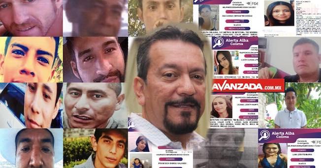 Desaparecieron 21 personas en abril en Colima, el Fiscal hace mutis