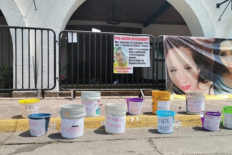 Se manifiestan por falta de agua (Jalisco)