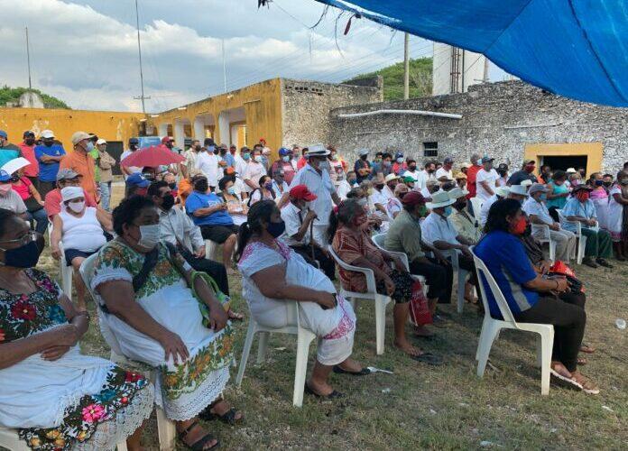 Mísero pago por tierras para Tren Maya en Kimbilá (Yucatán)