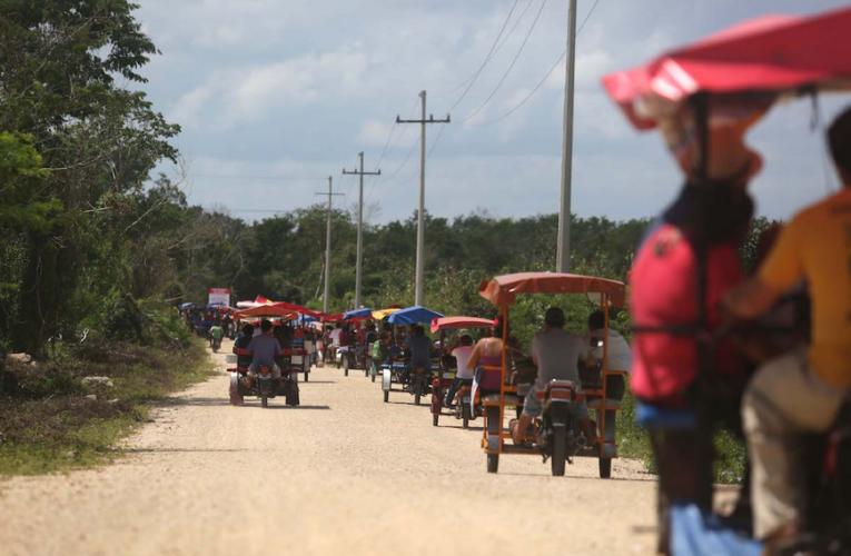 Gobierno echa reversa y quita sellos de clausura en Homún (Yucatán)