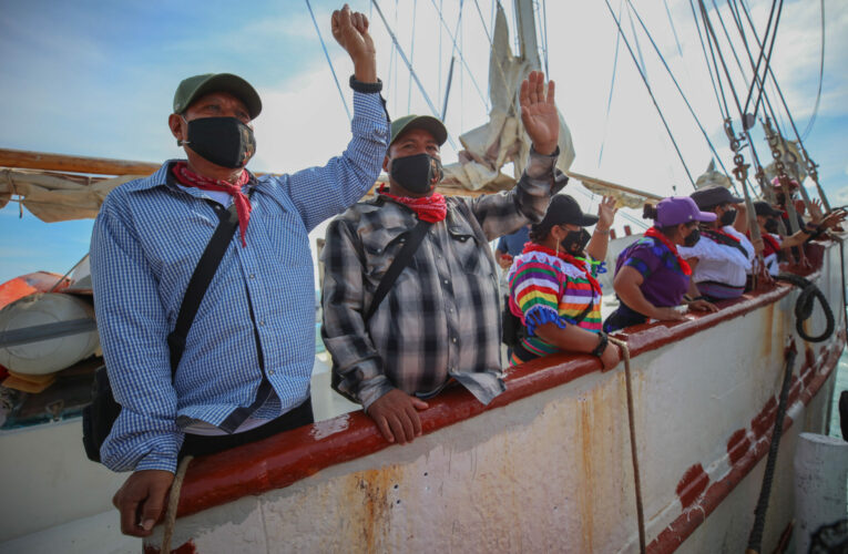 Escuadrón 421: zapatistas navegan a contrapelo de la historia
