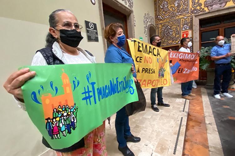 Gobierno ignora a los pobladores de Temaca (Jalisco)