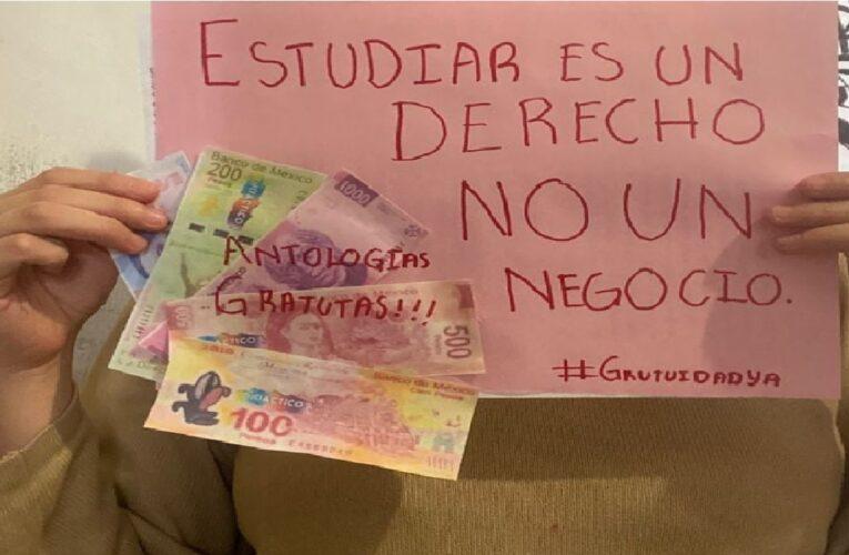 Estudiantes de la UAEMex exigen libros de texto gratuitos (Estado de México)