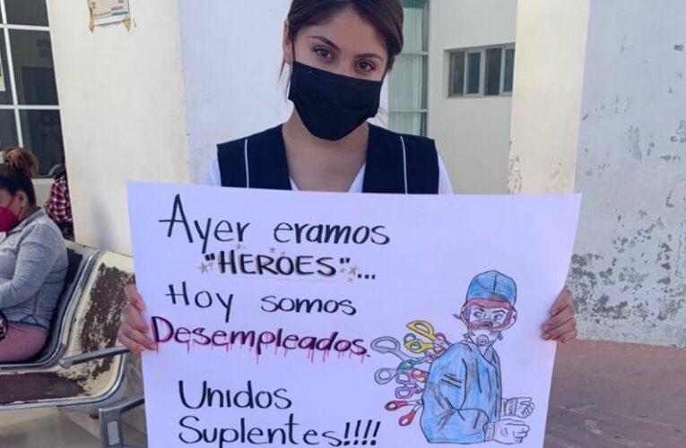Suplentes en Salud de héroes a desempleados (Zacatecas)