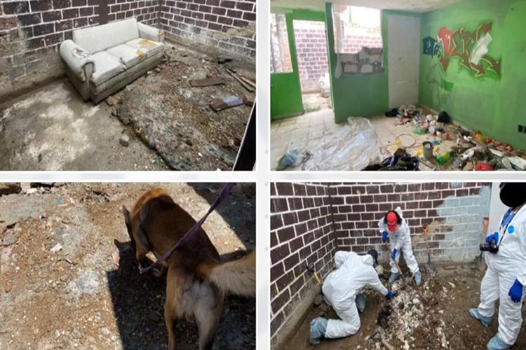 Van 13 víctimas exhumadas de 3 recientes fosas (Jalisco)