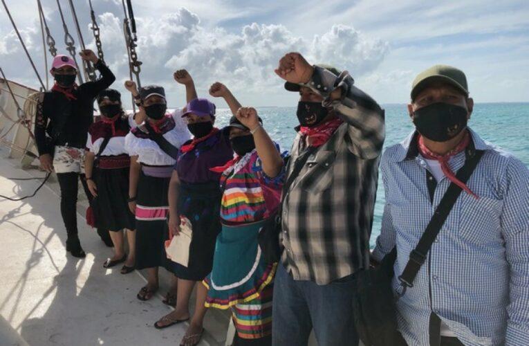 Más de 800 intelectuales y activistas europeos piden al Gobierno francés que permita la entrada de una delegación de zapatistas