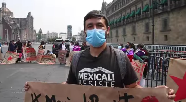Organizaciones señalan persecución contra integrantes de Mexicali Resiste (Baja California)