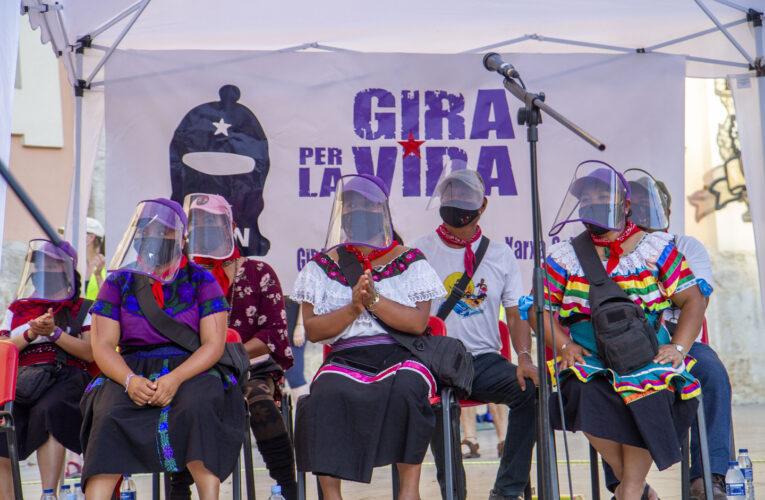 El paso zapatista por Valencia y Cataluña (FOTOGALERÍA)