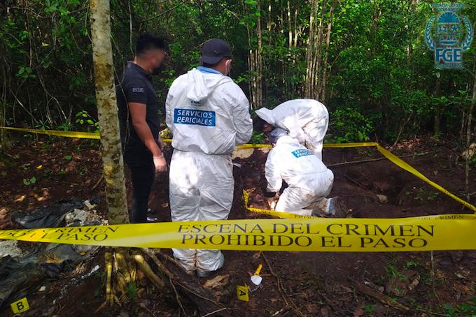 """Los """"olvidan""""; sólo 4 de 30 cadáveres localizados en fosas se han entregado a sus familiares, indiferencia gubernamental para atender situación"""